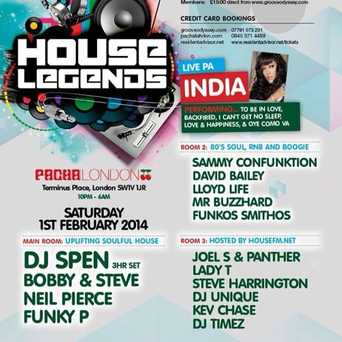 Neil Pierce exclusive mix for Groove Odyssey presents House Legends