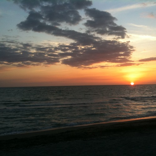 Midnight Walk on the Cay