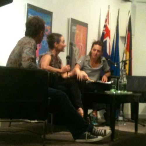 Sasha Waltz at Goethe-Institut Sydney, 19 Jan 2014 - IN CONVERSATION