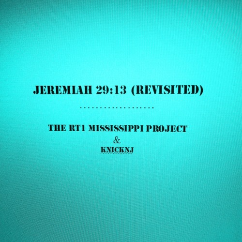 JEREMIAH 29.13 (Revisited)