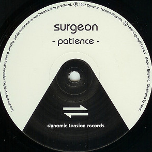 Clean these Bad Hands: Surgeon & Dynamic Tension Mix