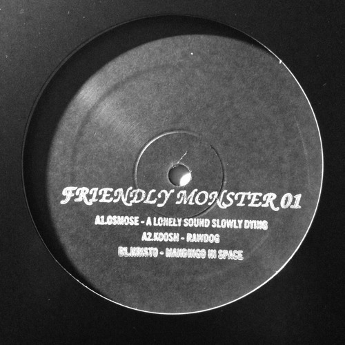 A Lonely Sound Slowly Dying.... - Osmose VINYL ONLY FMR-001