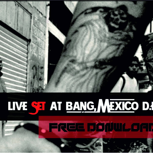 Jackie Cinch Live@Bang ,Mexico D.F.
