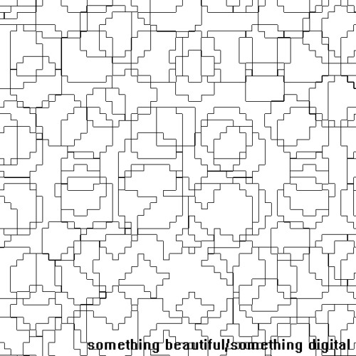 something beautiful/something digital