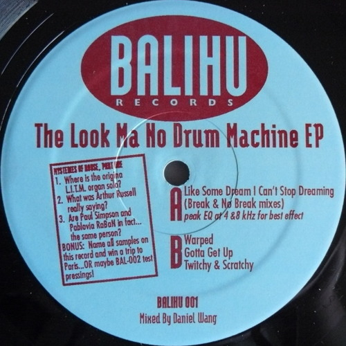 Balihu Records Mega Mix By Tim Sweeney (recorded July, 2009)