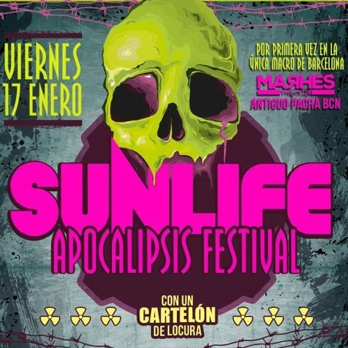JUS DEELAX @ SUNLIFE APOCALIPSIS FESTIVAL @ MARHES CLUB (17 JANUARY 2014)