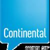 Anuncio del recital del Dúo La Trova en Villa Gesell por Radio Continental AM 590
