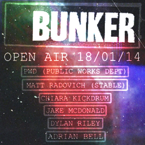 PWD - Bunker Open Air - January 18th 2014