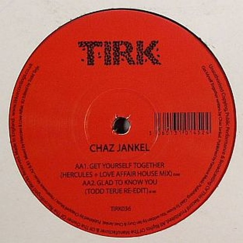 CHAZ JANKEL - Glad To Know You (Todd Terje edit)