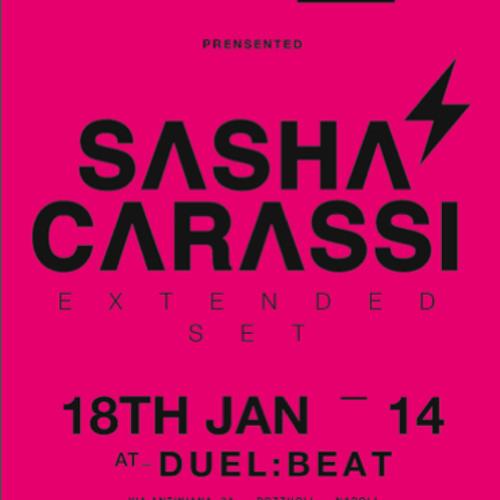 Sasha Carassi Extended Set @ Duel Beat (Napoli 18.1. 2014) PT.1