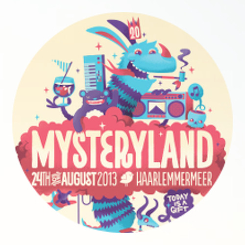 Olivier Weiter @ Mysteryland / WEITER Stage 2013