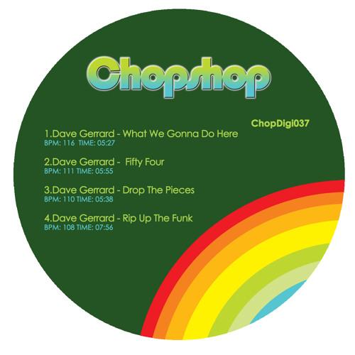 Dave Gerrard-Drop the Pieces (Out now on Chopshop)