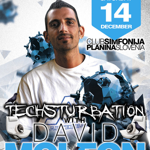 David Moleon 3 Decks @ Club Simfonija - Slovenia - 14.12.2013