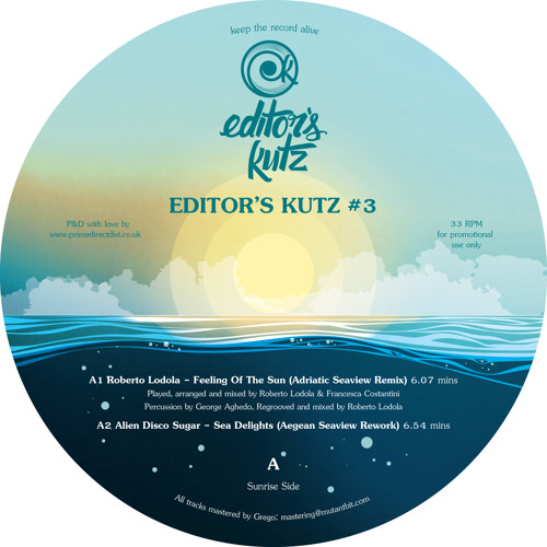 Roberto Lodola-Feeling Of The Sun (Adriatic Seaview Remix) (Out Now!!!) (LQ Preview) (Read Info)