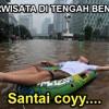 Ngecrack bersama lagu Splash Free! Banjir.. 8'D