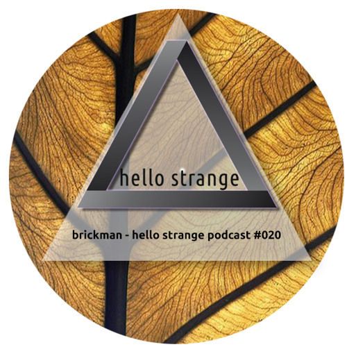 brickman - hello strange podcast #020 [ live ]
