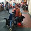 Busking blind guitarist (hokkien song)