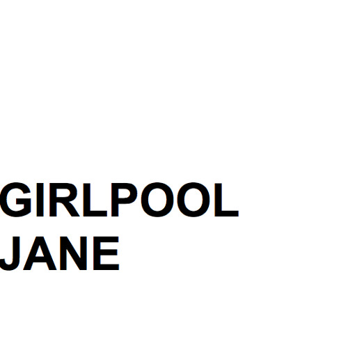 "Girlpool - ""Jane"""
