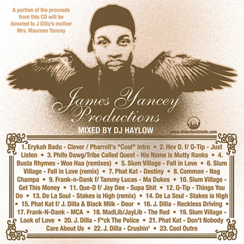 James Yancey Productions (Tribute to Jay Dee aka J Dilla) Mixed by @Haylow