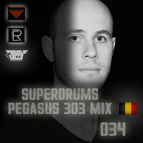 Pegasus 303 Mix 034 with Superdrums