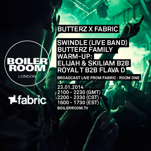 Swindle LIVE in the Boiler Room x Fabriclive