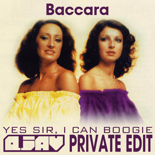 Baccara - Yes Sir, I Can Boogie (Qjav Private Edit) [FREE DOWNLOAD]