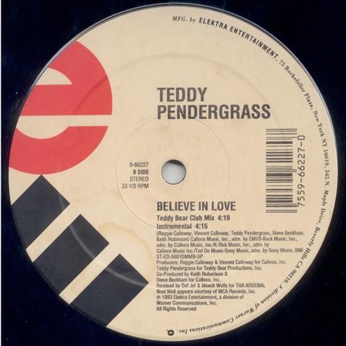 Teddy Pendergrass - Believe In Love (chris baron edit)