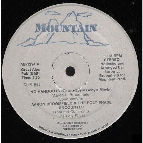 Aaron Broomfield - No handouts