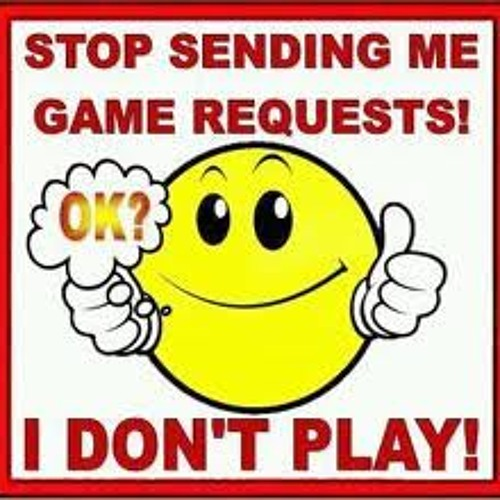 Playing NO Games