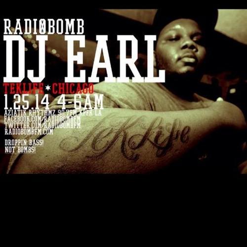 DJ EARL - EXCLUSIVE 2014 MIX & INTERVIEW - RADIOBOMB 90.7FM (LA)