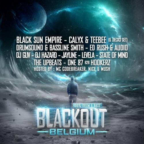 Ed Rush B2B Audio @ BLACKOUT Belgium 2013