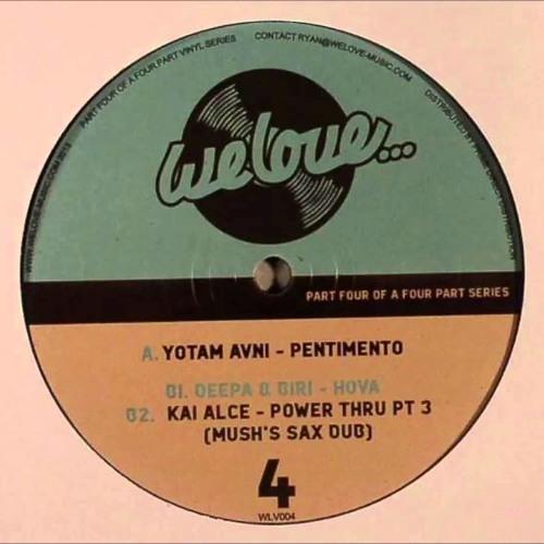 Yotam Avni Ft. Margaret Grace - Pentimento brings Joy (Bill Chaitidis Obsession Bootleg)