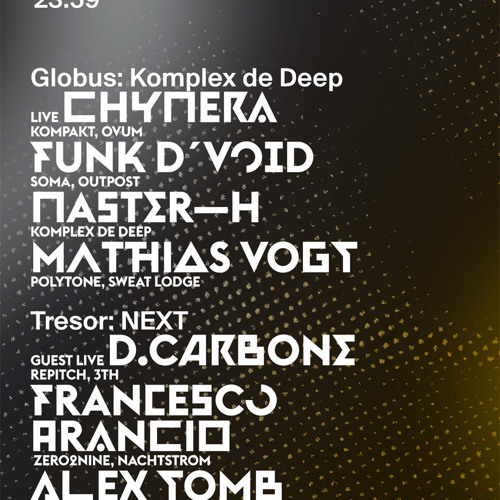 "Alex Tomb @ Tresor ""NEXT"" (25 January 2014)"
