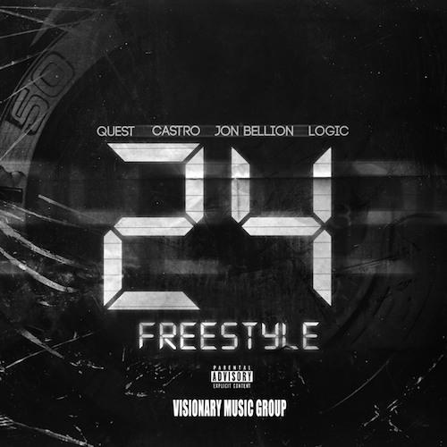 """Logic """"24 Freestyle"""" ft. QuESt, Castro, Jon Bellion"""