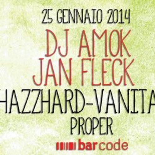 Jan Fleck live @ Barcode Club Naples Italy 25.1.14