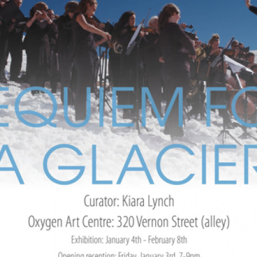 Requiem for a Glacier-- CBC podcast (2014)