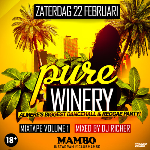 Pure Winery 22Feb 2014 @ Mambo [Almere]  Mixed By DjRicher