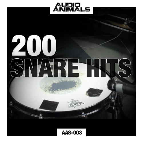 AAS-003 :: Audio Animals - 200 Snare Hits - Demo Track