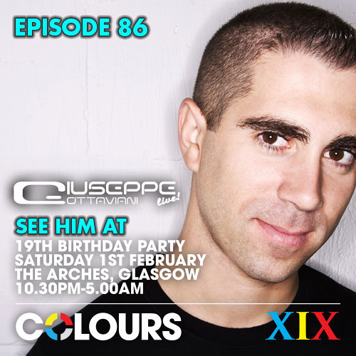 COLOURS PODCAST - Episode 86 - GIUSEPPE OTTAVIANI