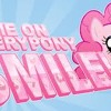 Pinkie Pie loves to smile! (ピンキーパイは笑顔が大好き!)