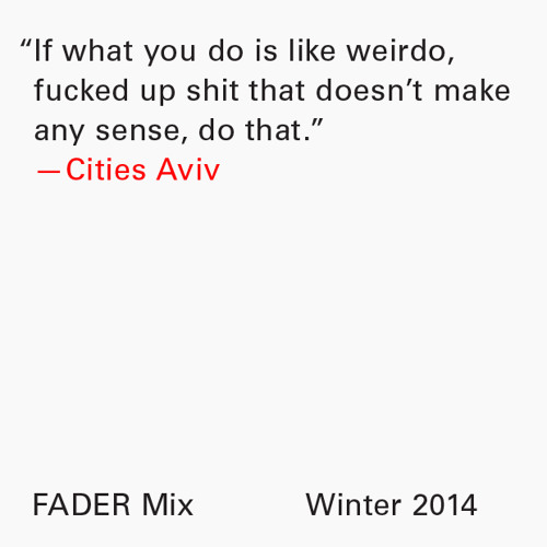 Cities Aviv FADER Mix