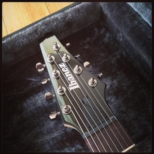 Ibanez Iron Label 8 (Drop B- 9 String Tuning Test)0-0-0