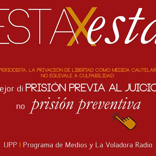 """Mejor di PRISIÓN PREVIA AL JUICIO, no """"prisión preventiva"""""""