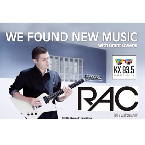RAC Interview - WE FOUND NEW MUSIC with Grant Owens