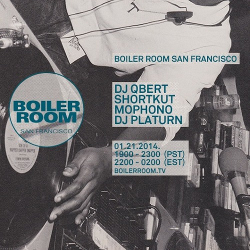 Shortkut Boiler Room San Francisco 60 Min DJ Set