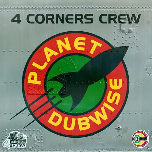 4Corners Crew feat. Terry Ganzie - Drum Pan Dead (Frisk Remix) (DS008) - Dubwise Station