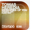 Tomas Heredia - Memories Of You [OUT NOW!]