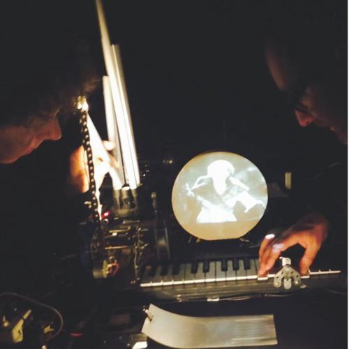 Phantoms : Création Originale de Pierre Bastien & Eddie Ladoire [Radio Campus Tours - 2014]