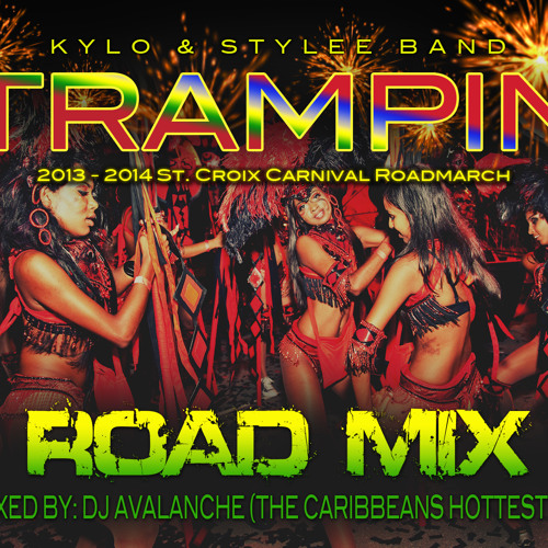 """Kylo & Stylee Band: """"Trampin"""" - DJ AVALANCHE ROAD MIX"""