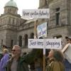 Occupy Victoria Protest